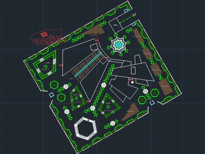 پروژه طراحی نگار خانه