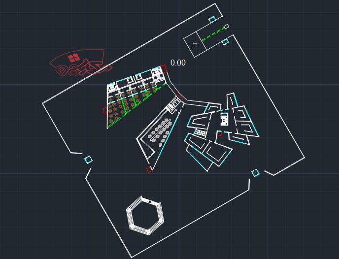 طرح اماده معماری نگار خانه