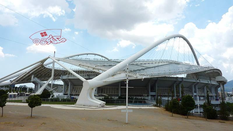 پاورپوینت تحلیل ورزشگاه المپیک آتن