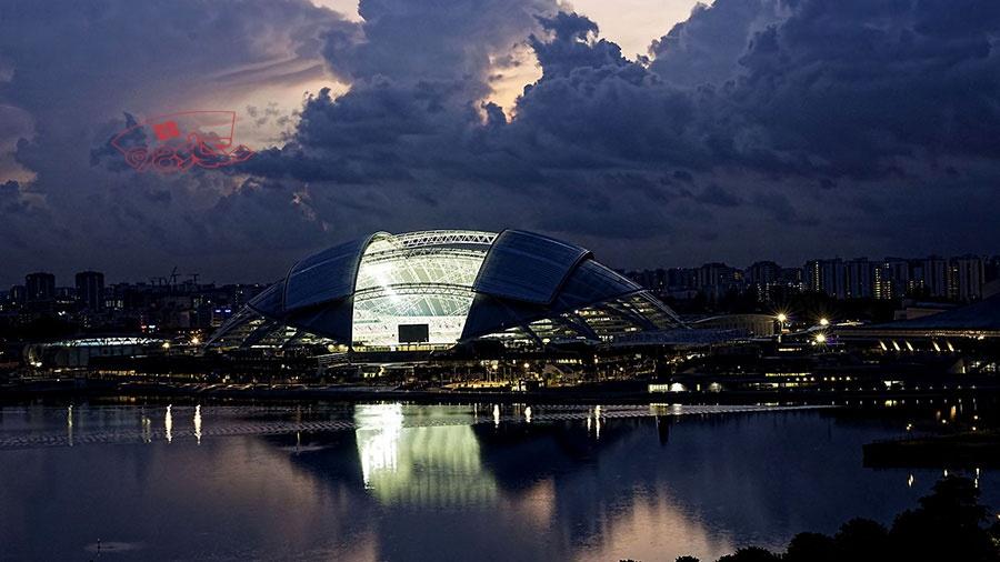 پاورپوینت کامل بررسی استادیوم ملی سنگاپور