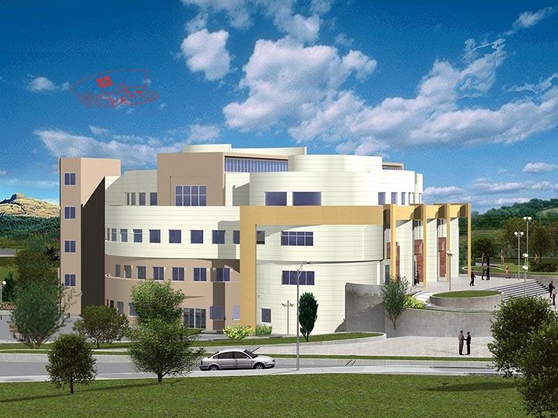 پلان دانشکده فنی مهندسی با جزئیات