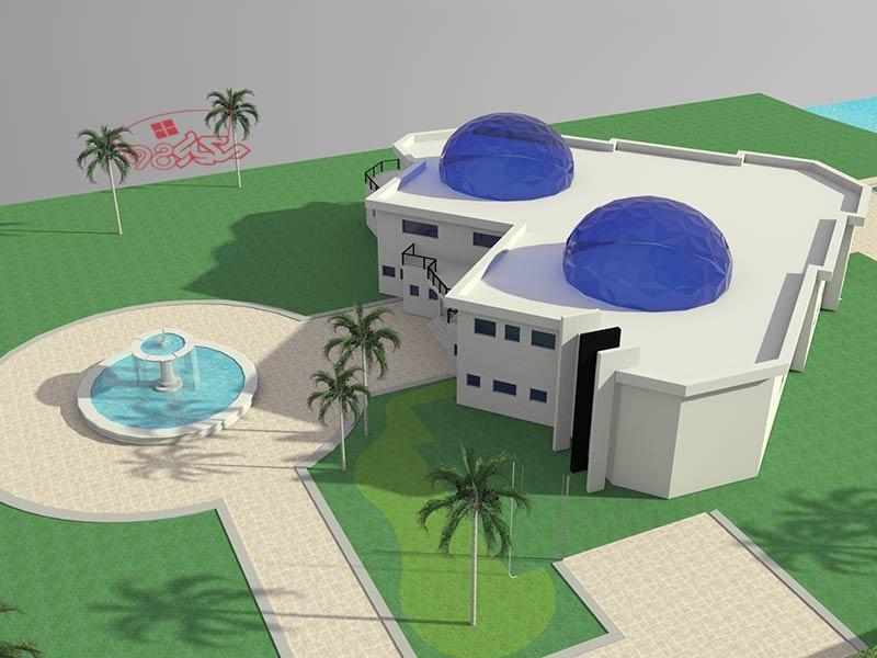 طراحی مدرسه 12 کلاسه