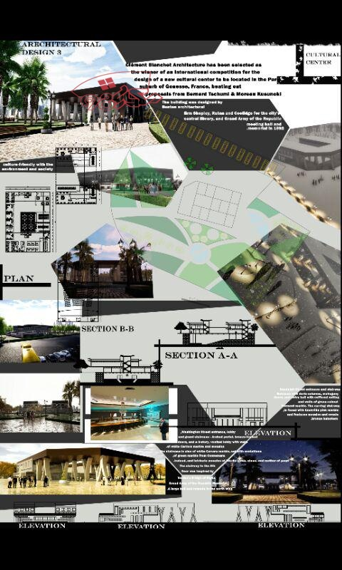دانلود طرح اماده معماری فرهنگسرا