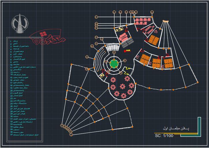 پروژه طراحی موزه زبان و الگو