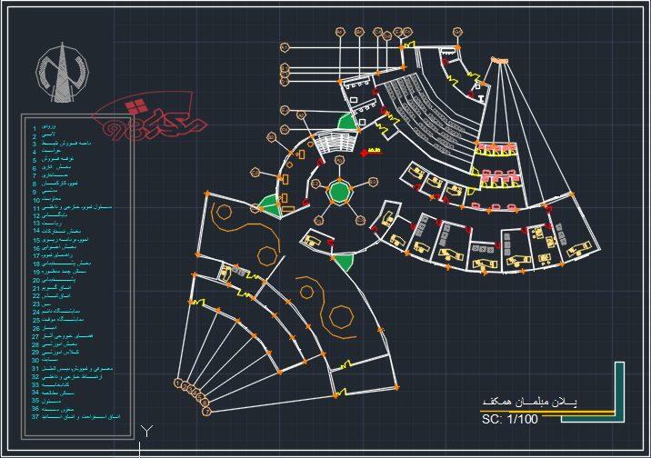 طراحی پروژه موزه زبان و الگو