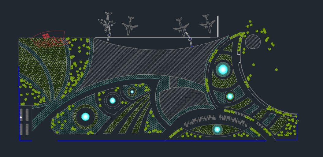 طرح کامل فرودگاه منطقه ای