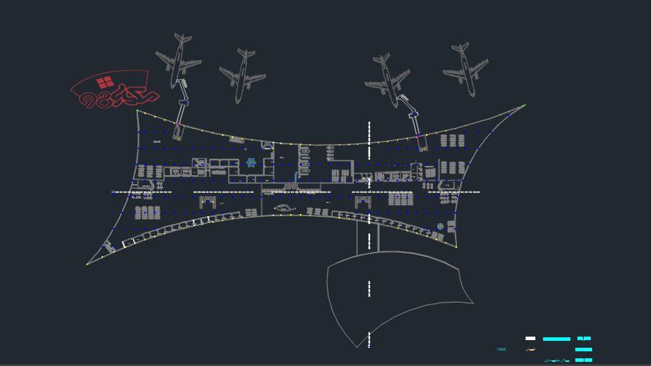پروژه طراحی فرودگاه منطقه ای