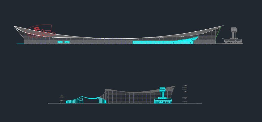 طراحی نمونه پروژه فرودگاه منطقه ای