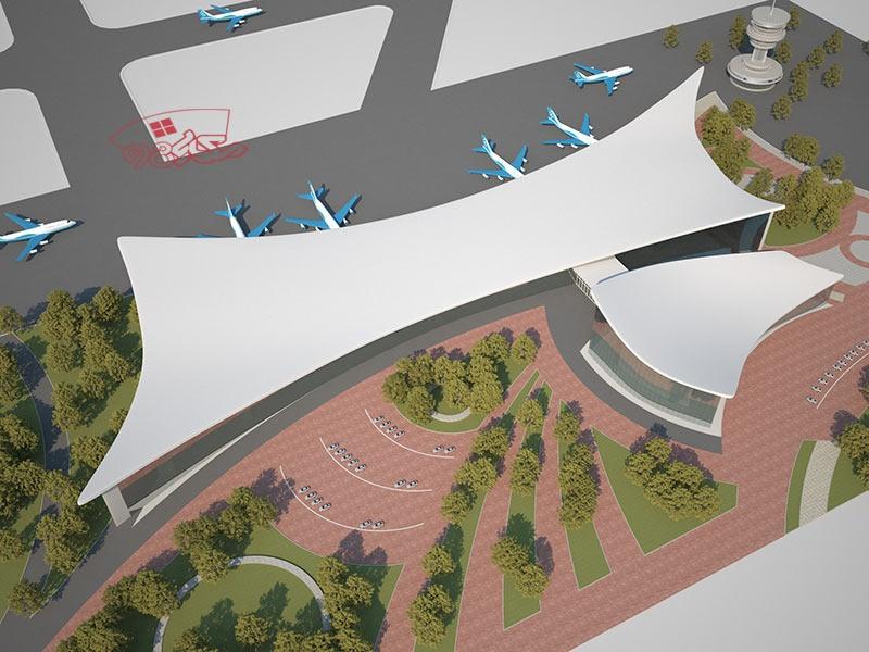 طراحی پروژه فرودگاه منطقه ای