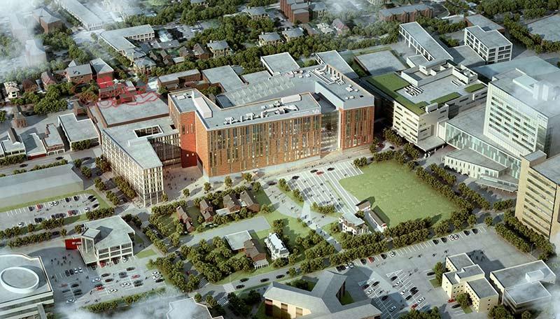 پایان نامه معماری دانشکده پزشکی