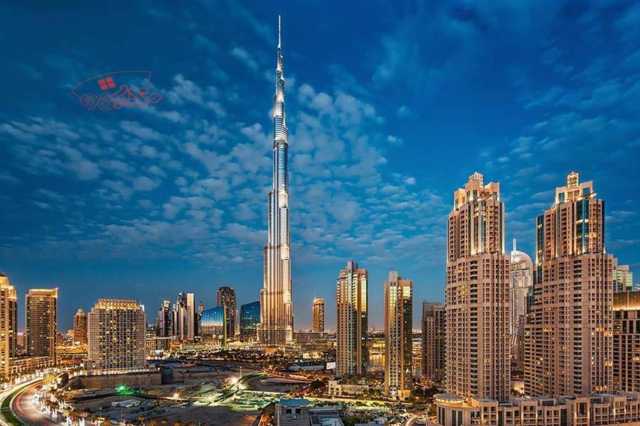 پاورپوینت تحلیل معماری برج خلیفه