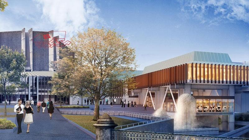 رساله ارشد تالار شهر با رویکرد معماری پایدار