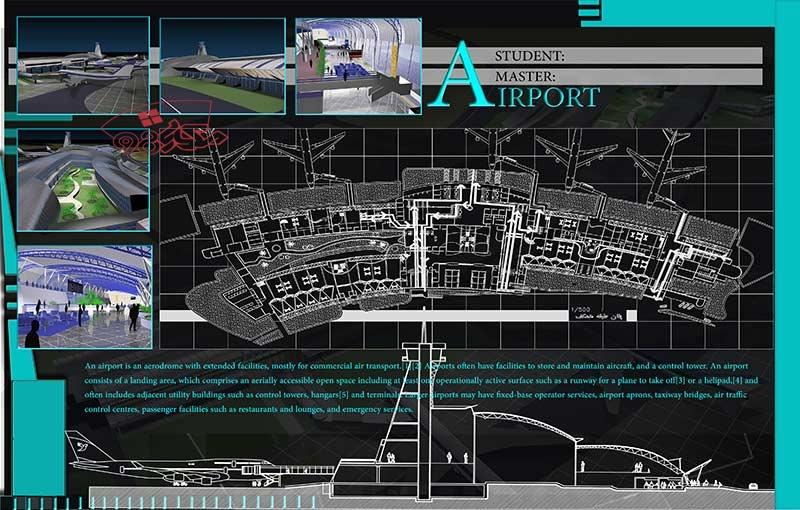 طرح کامل فرودگاه بین المللی