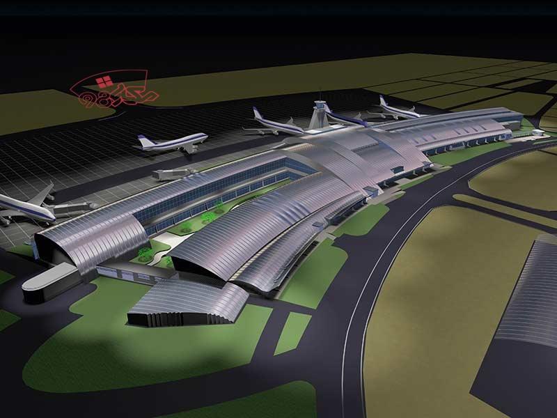 پروژه آماده فرودگاه بین المللی