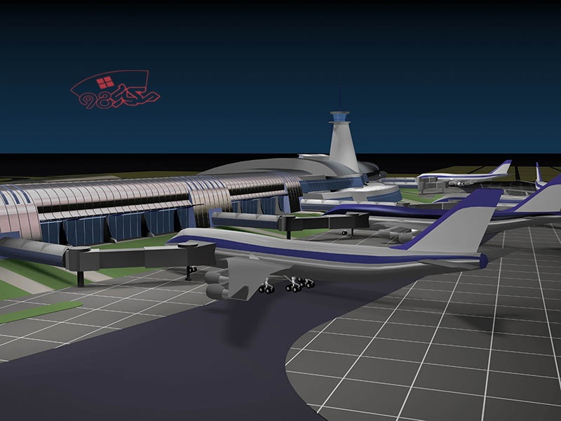 پروژه آماده طراحی فرودگاه بین المللی