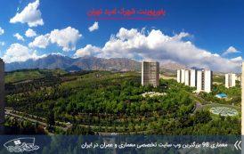 پاورپوینت تحلیل شهرک امید تهران