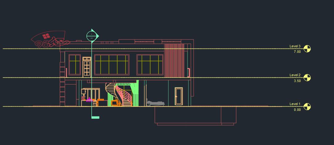 طرح آماده خانه معمار با رویکرد آینده با جزئیات