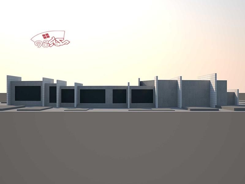 پروژه طراحی مرکز موسیقی ایرانی