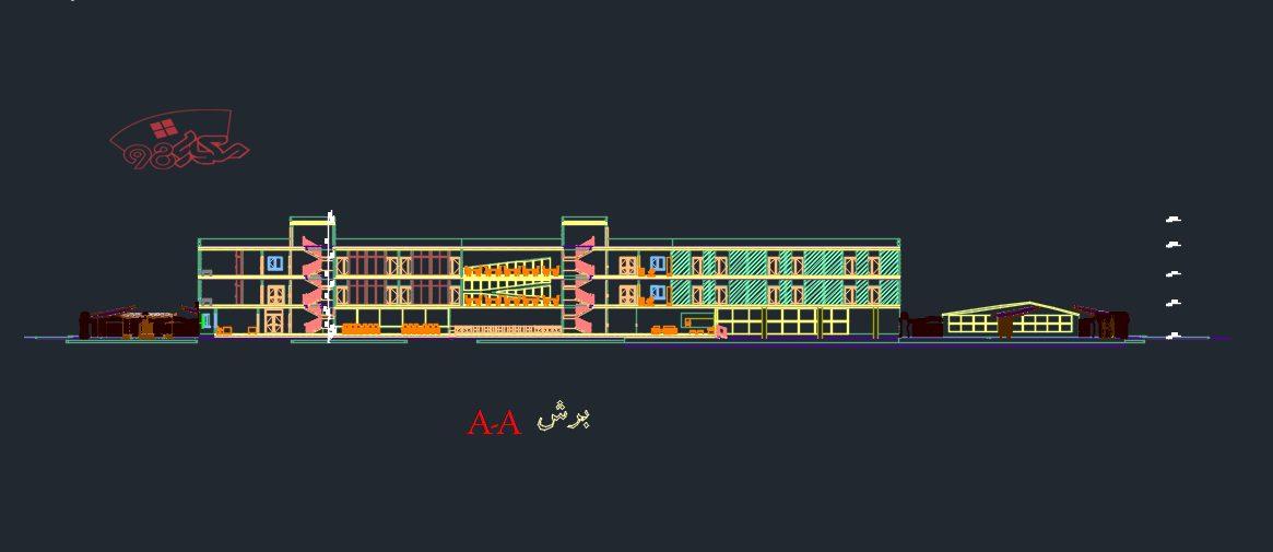 طرح کامل معماری سرای مهر گلشن