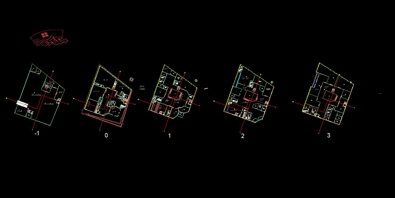 نمونه طراحی کتابخانه دیجیتال