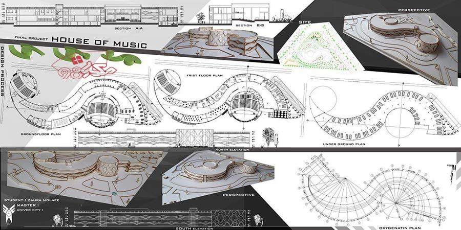 دانلود رایگان طراحی خانه موسیقی
