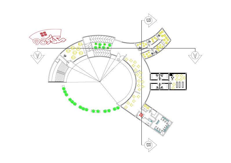 دانلود نمونه طرح خانه کودک با جزئیات کامل