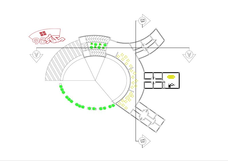 دانلود نمونه طرح معماری خانه کودک