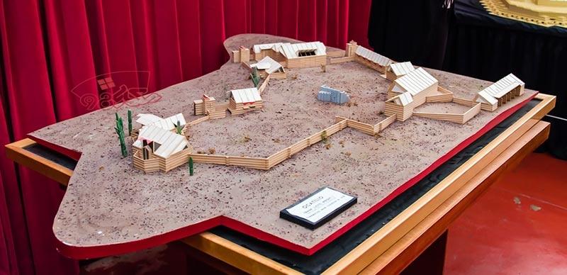 دانلود پاورپوینت معماری کمپ صحرایی اکاتیلو