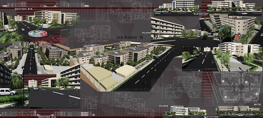 طرح مجتمع کامل مسکونی