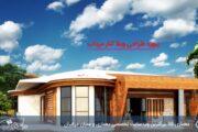 پروژه طراحی ویلا کنار مرداب با مدارک کامل