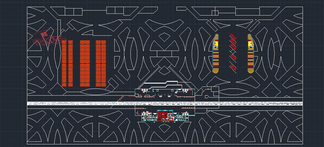 پلان اتوکدی مترو